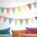 Colour Bunting Stickers