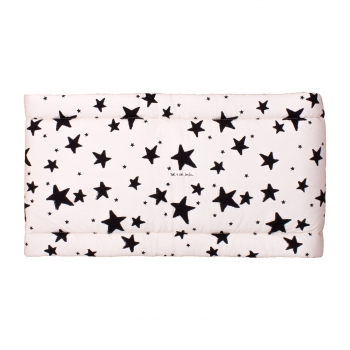 Black Stars & Stripes Cot Bumper