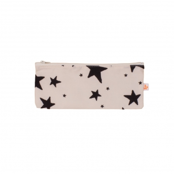 Black Stars Small Pencil Case