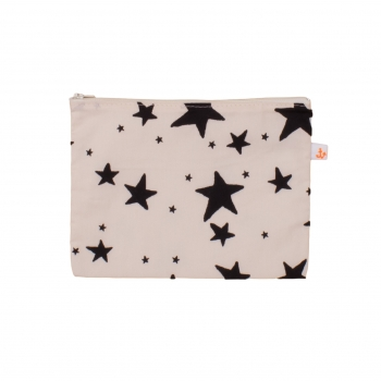Black Stars Medium Pencil Case