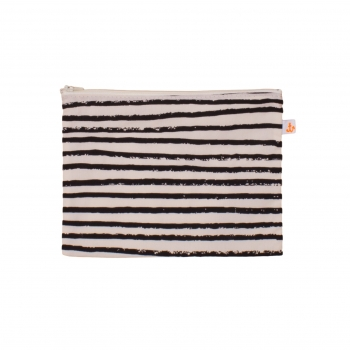 Black Stripes Medium Pencil Case