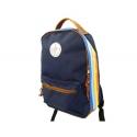 Dark Blue Retro Backpack