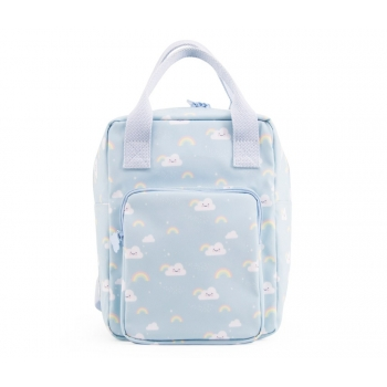 Blue Clouds & Rainbows Backpack