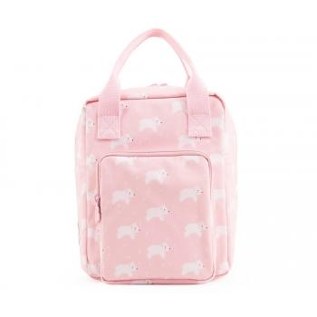 Pink Polar Bear Backpack