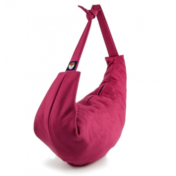 Magenta Cotton 3-in-1 Changing Bag