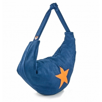 Royal Blue Star Cotton 3-in-1 Changing Bag