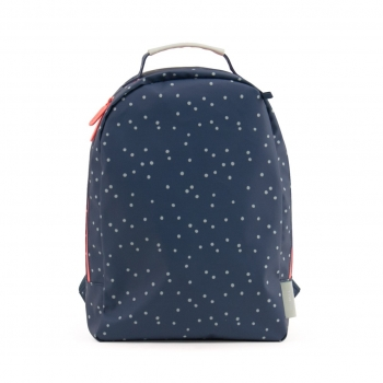 Dots Midnight Blue Miss Rilla Backpack