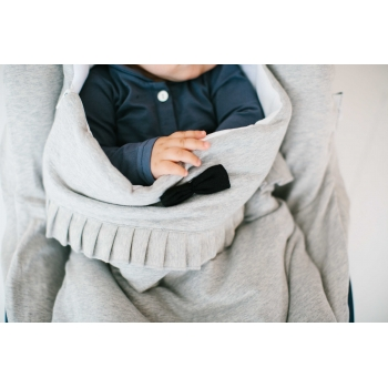 Stone Grey & Black Travel Sleeping Bag