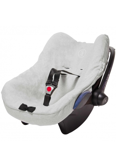 Stone Grey & Black Carseat Cover