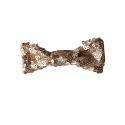 Matte Gold Hair Bow
