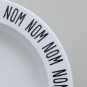 Black Nom Nom Nom Plate