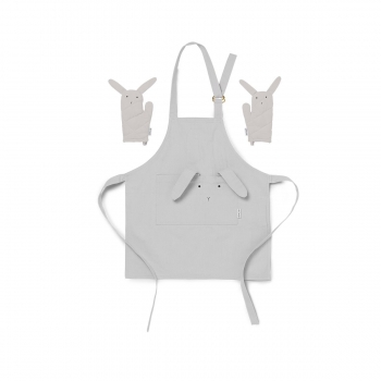 Rabbit Apron Vincent - Dumbo Grey