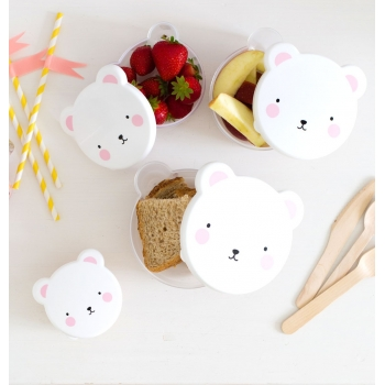 Pink Bear Snack Box