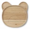 Wooden Plate Conrad - Mr Bear
