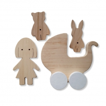 Handmade Girl Play Set