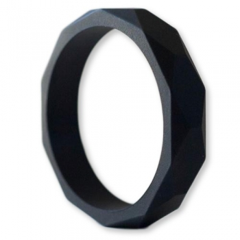 Black Teething Bangle