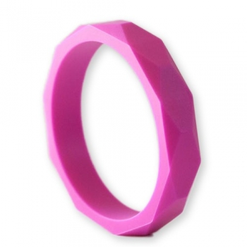 Fuchsia Teething Bangle