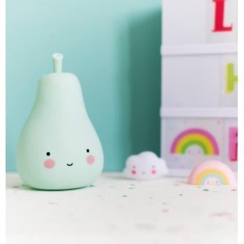 Mint Mini Pear Night Light
