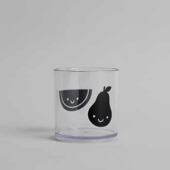 Black Fruit Friends Tumbler