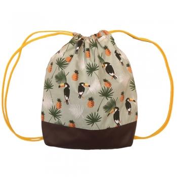 Tropical String Backpack