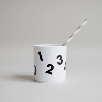 Number Tumbler Black - White Edition