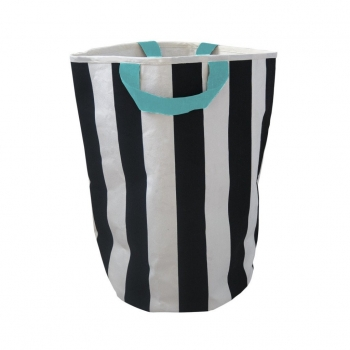 Stripe & Seafoam Storage Bag