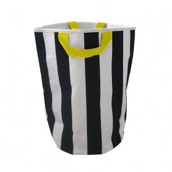 Stripe & Yellow Storage Bag