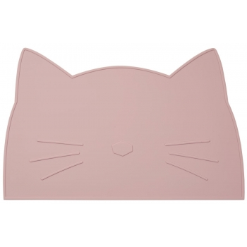 Rose Cat Silicone Placemat - Jamie