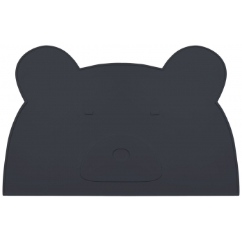 Placemat Jamie - Black Mr Bear