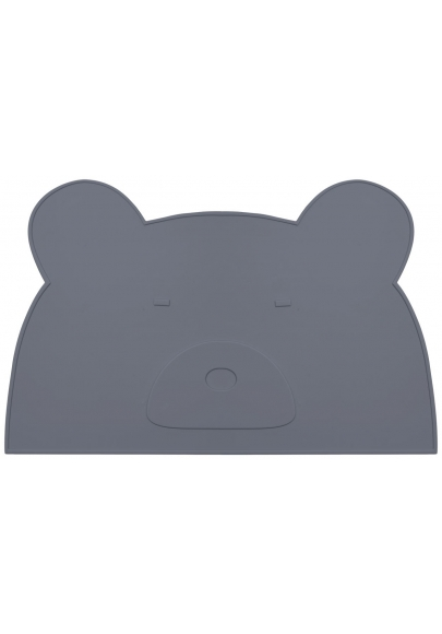Placemat Jamie - Stone Grey Mr Bear