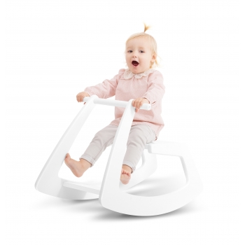 Rocking Horse - White Butterfly
