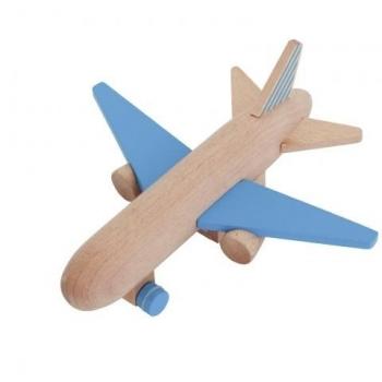 Blue Wooden Jet - Hikouki