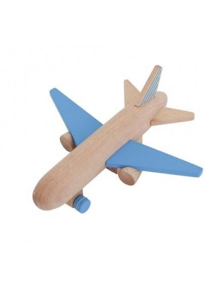 Hikouki Wooden Jet Blue