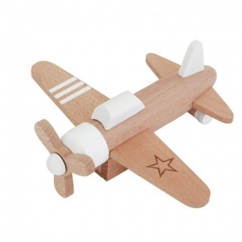Hikouki Wooden Propeller White