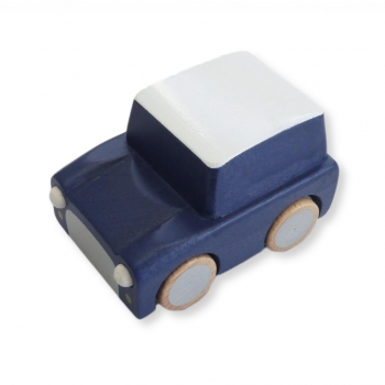 Kuruma Wooden Car Navy