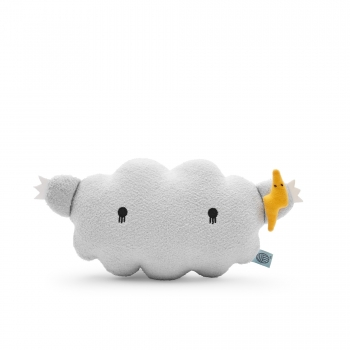 Grey Cloud Plush Toy – Ricestorm