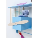 Biplane Shelf Dashy Blue
