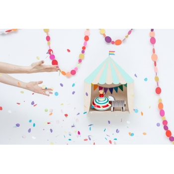 Circus Shelf 'Big Top' Mint Green