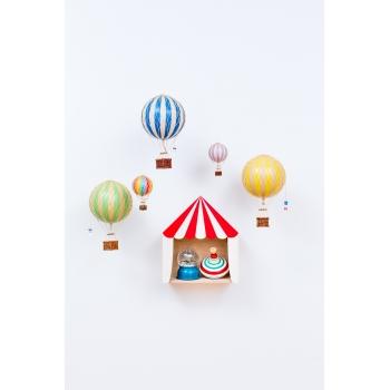Circus Shelf 'Big Top' Red & White