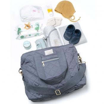 Grey Nursing Bag