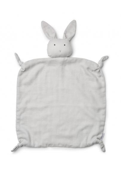 Agnete Cuddle Teddy Rabbit Dumbo Grey