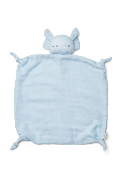 Agnete Cuddle Teddy Elephant Baby Blue
