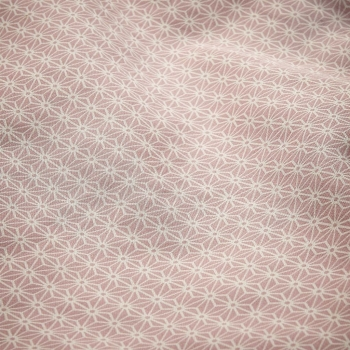 Long Eating Bib – Sashiko Blush