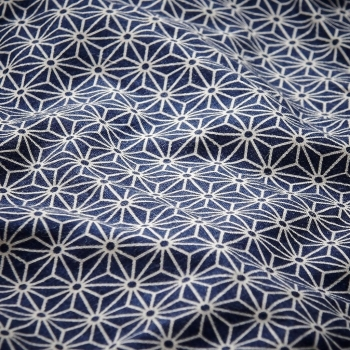 Eating Bib – Sashiko Blue