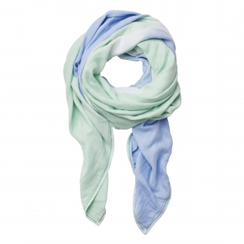 Aqua Green Luxury Scarf Swaddle