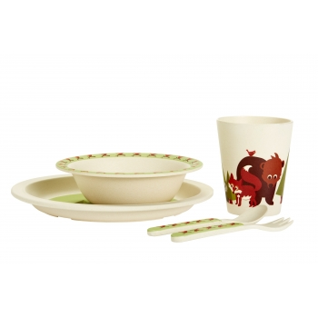 Fox Bamboo Dinner Set