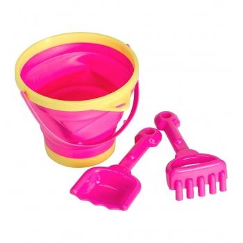 Pink Bucket & Spade Set
