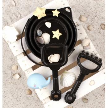 Black Bucket & Spade Set