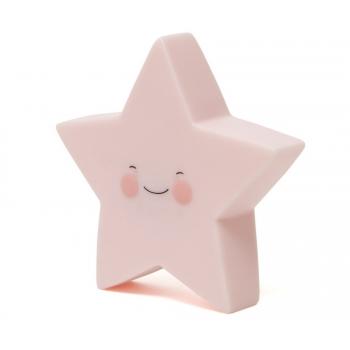 Pink Star Nightlight