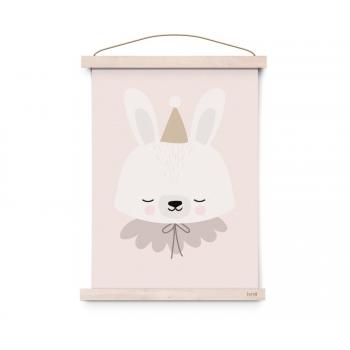 Circus Bunny Poster